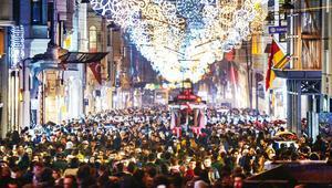 İstanbul yılbaşı kutlamasına hazır