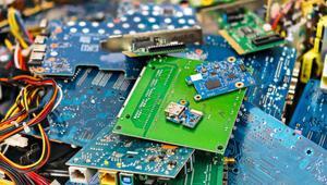 Elektronik atıklar üç bin şehir hatları vapurunun ağırlığına denk