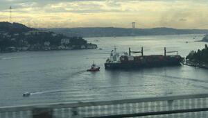 Sarıyerde gemi kazası