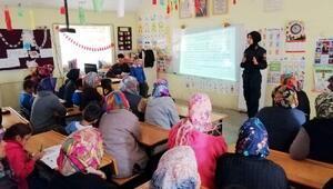 Jandarmadan kadına yönelik şiddet eğitimi