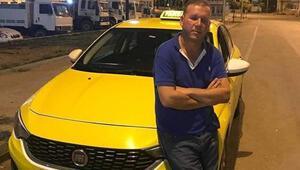 Taksici aracında ölü bulundu