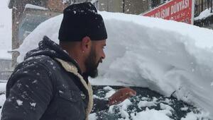 Beytüşşebapta 10 köy yolu kardar kapandı
