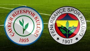 Fenerbahçe ile Rizespor 37. randevuda Önceki 36 maçın 21ini...