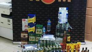 Gebze'de kaçak içki operasyonu