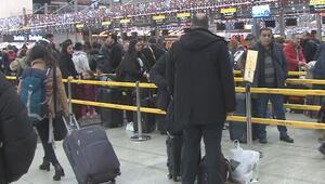 Sabiha Gökçen Havalimanı'nda hareketlilik