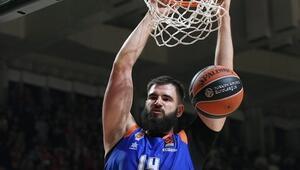 THY Avrupa Liginde 16. haftanın MVPsi Valenciadan Dubljevic