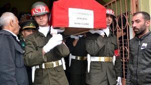 Kore gazisi Enver Yeşilyurt son yolculuğuna uğurlandı