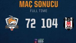 Gelecek Koleji Çukurova Basketbol: 72 - Beşiktaş TRC İnşaat: 104