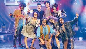 Komik zombiler... Cem Yılmazın yeni filminden renkli görüntüler