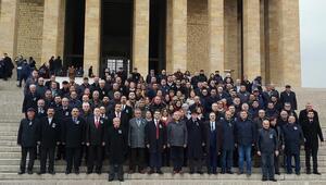 Anadolu Güç Birliğinden Anıtkabir Ziyareti