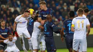 Trabzonspor son yılların en iyi ilk yarı puanını aldı