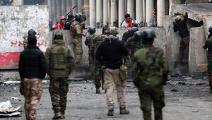 Irakta gösteriler nedeniyle ilk defa petrol üretimi askıya alındı