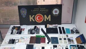 Adanada tefeci operasyonu: 28 gözaltı