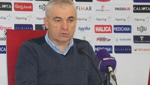 Sivasspor Teknik Direktörü Rıza Çalımbaydan şampiyonluk açıklaması