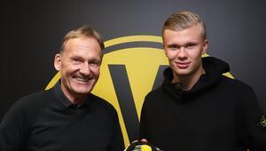 Borussia Dortmund, Erling Haalandı transfer etti