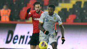 Gaziantep FK 1-1 Btc Yeni Malatyaspor