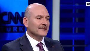 Bakan Soylu CNN TÜRKte açıkladı: Piyasa değeri 15 milyar liralık kök keneviri yakaladık