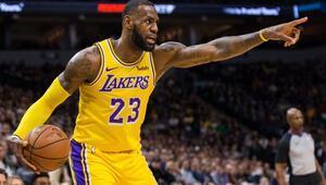 NBAde gecenin sonuçları | LeBron James tarihe geçti 9ar bin asist ve ribaunt...