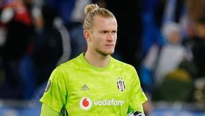 Beşiktaşta ilk yarıda en çok Loris Karius forma giydi