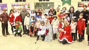 Kemer Countryde aileler yarıştı