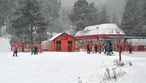 Sezonu açan Cıbıltepedeki turizmcileri yılbaşı heyecanı sardı