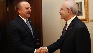 Son dakika... Dışişleri Bakanı Çavuşoğlundan CHPyi ziyareti sonrası açıklama