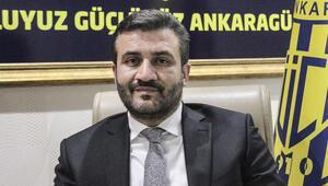 MKE Ankaragücü Başkanı Fatih Mert ilk devreyi değerlendirdi