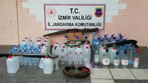 İzmirde sahte içki operasyonu: 5 gözaltı