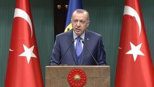 Cumhurbaşkanı Erdoğan teşekkür etti ve ekledi: Devredilmesini bekliyoruz