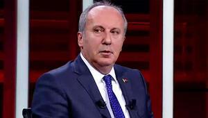 Son dakika haberi... Muharrem İnceden CNN TÜRKte önemli açıklamalar