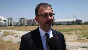 Bakan Kasapoğlundan İskenderuna 19 spor tesisi sözü