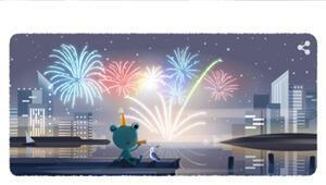 Google 2020 yılbaşı arifesini Doodle yaparak kullanıcılarına sürpriz yaptı