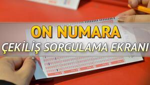 2019un son On Numara çekilişi tamamlandı MPİ On Numara sonuç sorgulama sayfası