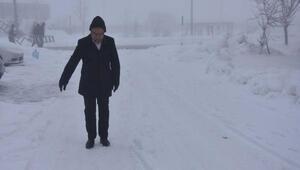 Bitliste 47 köy yolu kardan kapandı