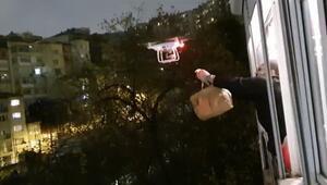 Türkiyede bir ilk Servisi müşterilere drone ile gönderiyorlar