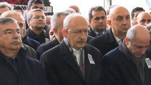 Kılıçdaroğlu cenaze törenine katıldı