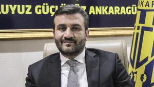 MKE Ankaragücü Başkanı Fatih Mertten yeni yıl mesajı
