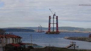 Yüksekliği 110 metreye ulaştı Dev projede son durum böyle görüntülendi