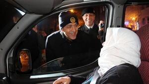 Vali Aktaş, yılbaşı denetimlerine katıldı