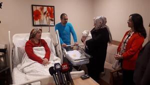 Ankarada yeni yılın ilk bebeği doğdu