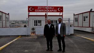 TSO Başkanı Zaroğlu: Zeytin Dalı Gümrük Kapısı, Cilvegözü'nün yükünü hafifletecek