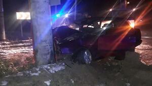 Afyonkarahisarda feci kaza: 1 ölü, 1 yaralı