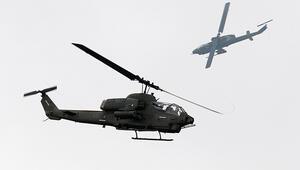 Tayvanda askeri helikopter düştü Çok sayıda ölü var
