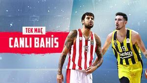 Fenerbahçe Beko, zorlu Atina deplasmanında Olympiakosa iddaada...