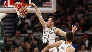 NBAde gecenin sonuçları | Bucks, Timberwolvesu yenerek üst üste 4. galibiyetini aldı
