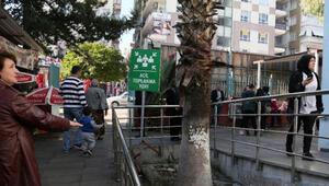 Antalya'da iki garip 'acil toplanma' alanı