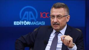 Cumhurbaşkanı Yardımcısı Oktay: Suriyenin kuzeyinde güvenli bölgeye model olacak bir alan planlanıyor