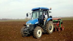 Yenişehirde buğday hasatında verimi arttırmak için yeni tohum denemesi