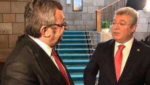 AK Partili Akbaşoğlu ile CHPli Altay arasında tezkere tartışması