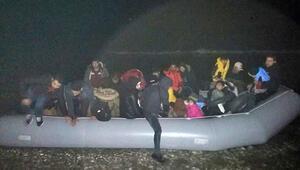 İzmir'de yeni yılın ilk günü 181 kaçak göçmen yakalandı